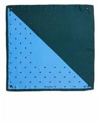Bicolor eyes bandana silk scarf medium 6988741