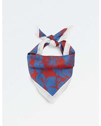 Stella McCartney Floral Print Silk Bandana
