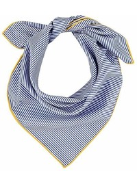 Barneys New York Pinstriped Cotton Bandana