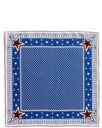 Givenchy Star Silk Twill Square Scarf