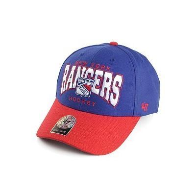 ... 47 Brand Hats 47 Brand Ny Rangers Baseball Cap Blue Red 260737b9028