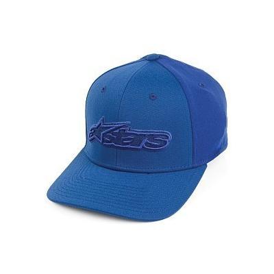 ... Alpinestars Barcom Curved Baseball Cap Blue 26434ca23faf