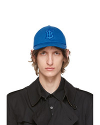 Burberry Blue Tb Monogram Baseball Cap