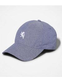 Express Small Lion Chambray Baseball Hat
