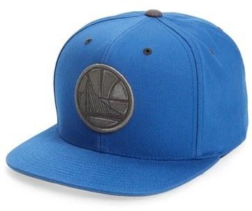 70e9022e ... Caps Mitchell & Ness Golden State Warriors Team Logo Snapback ...