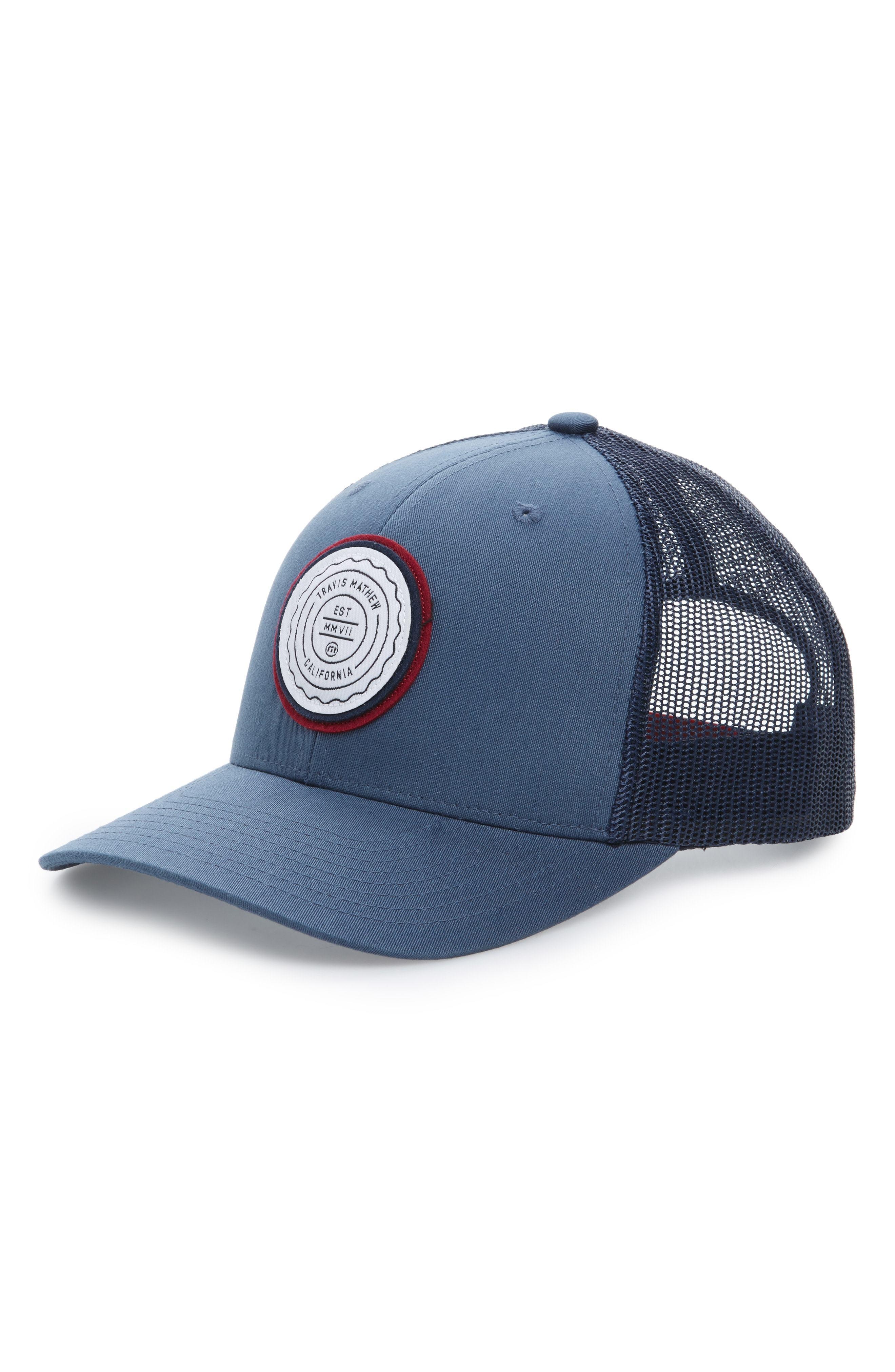 3541e065 Travis Mathew Trip L Trucker Hat, $29 | Nordstrom | Lookastic.com