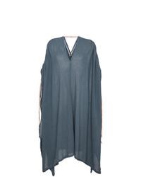 Caravana Ruched Shoulder Kaftan Dress