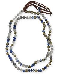 Chan Luu Beaded Tassel Necklace 38