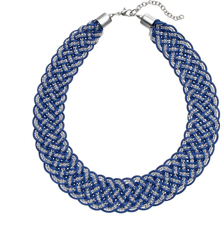 Sonoma Life Style Bead Braided Necklace   Where to buy & how to wear