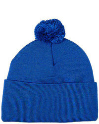 American apparel cuffed acrylic pom pom beanie medium 105024