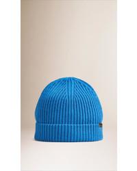 Burberry Cashmere Rib Knit Beanie