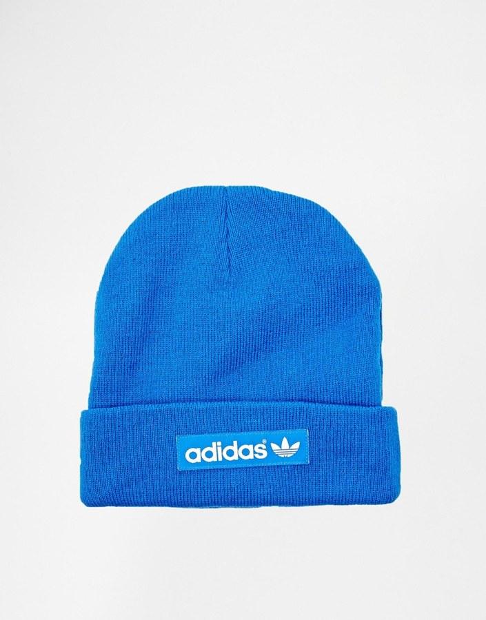 ... Blue Beanies adidas Originals Logo Beanie Hat M30732 ... 1d08d72e842