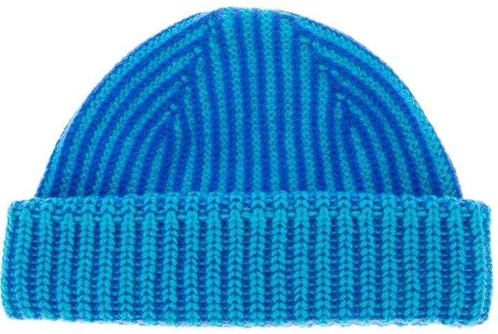 Paul Smith Striped Beanie Hat