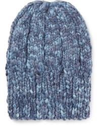 Etro Ribbed Mlange Wool Beanie