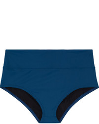 Karla Colletto High Rise Bikini Briefs Cobalt Blue