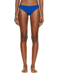 Alexander Wang T By Blue Bonded Seams Bikini Bottoms