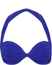 Norma Kamali Bill Halterneck Bikini Top