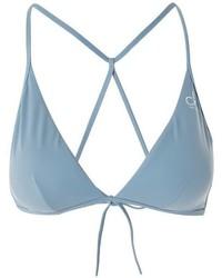 Calvin Klein Cross Triangle Bikini Top