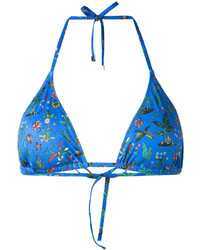 Paul Smith Palm Tree Bikini Top