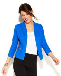 Alfani Textured Zip Pocket Blazer