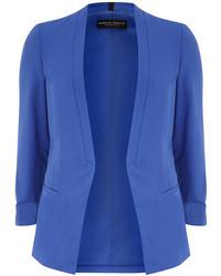 Dorothy Perkins Cobalt Blue Crepe Blazer