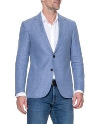 Enfield linen blend blazer medium 8576526