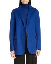 St. John Collection Luxe Wool Cashmere Double Face Jacket