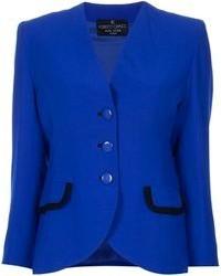 Roberto Capucci Vintage Collarless Jacket