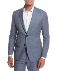 Theory Rodolf N Hl Cross Stitch Suiting Jacket Blue