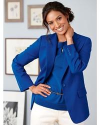Pendleton Seasonless Wool One Button Blazer