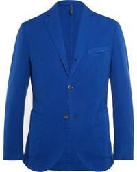 Incotex Slim Fit Gart Dyed Cotton Blazer