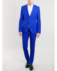 Topman Cobalt Blue Ultra Skinny Suit Jacket | Where to buy & how ...