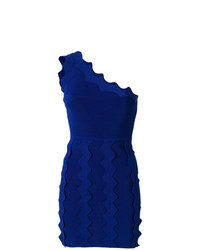 Off shoulder ruffle trim dress medium 7380539