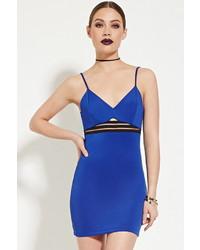 Forever 21 Shadow Stripe Bodycon Dress