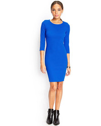 Forever 21 Textured Knit Bodycon Dress