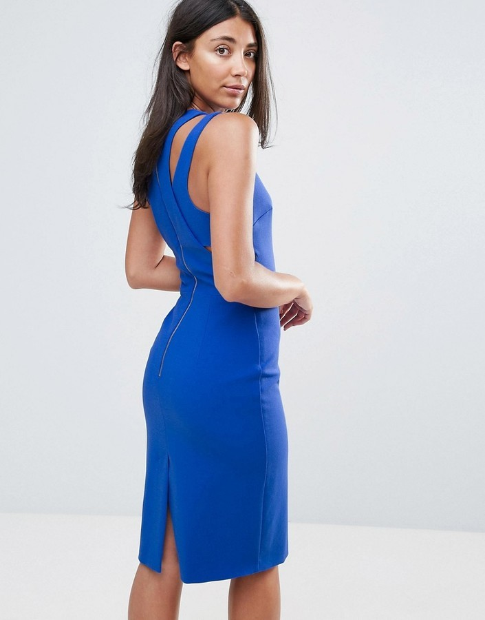 4442754def7 French Connection Whisper Cut Out Shoulder Bodycon Dress, $111 ...