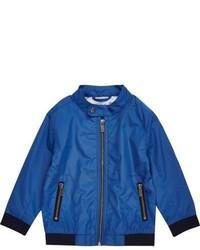 River Island Mini Boys Blue Bomber Jacket