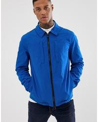 ASOS DESIGN Utility Jacket In Bright Blue
