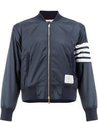 Thom Browne Zipped Bomber Jacket