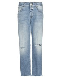 Closed Jay Mid Rise Boyfriend Distressed Jeans