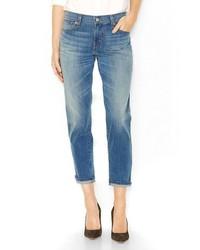 Levi's Cuffed Boyfriend Jeans