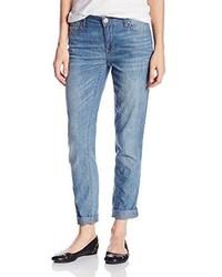 DKNY Jeans Light Weight Denim 27 Inch Rolled Boyfriend