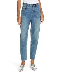La Vie Rebecca Taylor Emilie High Waist Ankle Jeans