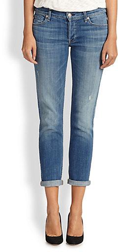 7 For All Mankind Josefina Slim Boyfriend Jeans | Where to buy ...