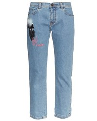 Fendi Karl Loves Boyfriend Jeans