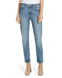 Frame Le Boy Distressed Boyfriend Jeans
