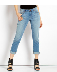 Eileen Fisher Missy Cotton Stretch Boyfriend Jeans