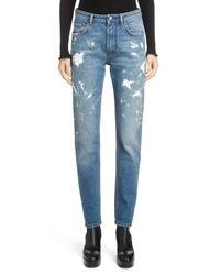 Acne Studios Paint Splatter Jeans