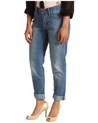 Pendleton Petite Slim Boyfriend Jean In Cool Blue Stretch Denim