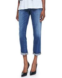 Eileen Fisher Stretch Boyfriend Jeans Petite